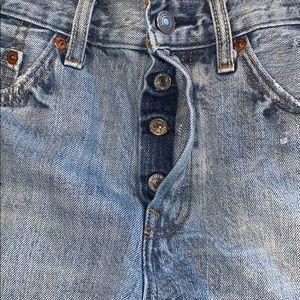Levi's Shorts - Levi's high waisted denim shorts